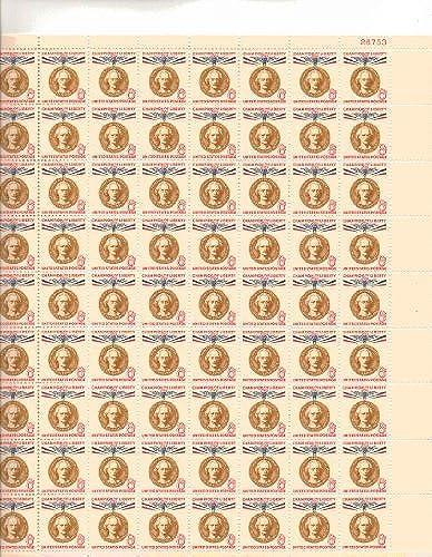 Ignacy Jan Paderewski Full Sheet of 72 X 8 Cent Stamps Scott 1160 by USPS