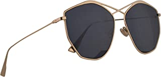 9328f3ce503b Christian Dior DiorStellaire4 Sunglasses Gold w Blue Avio Lens 59mm J5GKU  Stellaire 4 Stellaire4
