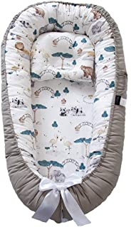 AVSIL® Baby Nest and Pillow Set, Infant Baby Lounger