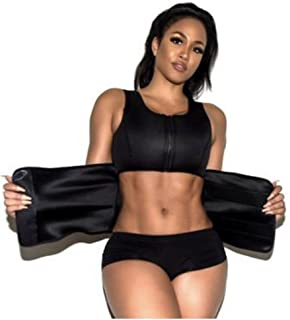 Waist Trimmer Sweat Vest, TruBeauty Adjustable Neoprene Abdominal Sport Belt for Weight Loss, Slimming Fat Burner, Postpar...