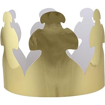 1 Dozen Fun Express Foil Gold Crowns Everready First Aid FNEIN-25//105