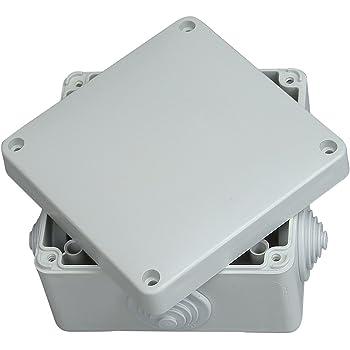 Legrand 92012 Caja de conexiones eléctricas, 90x90x50 mm: Amazon.es: Industria, empresas y ciencia