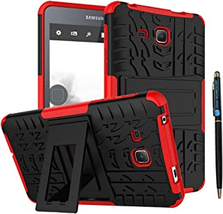 Tab A 7.0 Case DWaybox Armor 2in1 Combo Hybrid Rugged Heavy Duty Hard Back Cover Case with Kickstand for Samsung Galaxy Tab A 7 Inch 2016 SM-T280 / T285 / Samsung Tab A6 A7 7.0