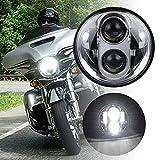 Faro delantero led para motocicleta de 14 cm, led, para motocicleta, proyector