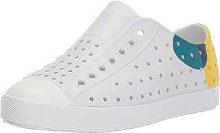 Kids Shoes Unisex Jefferson Block (Little Kid/Big Kid) Shell White/Shell White/Dot Block 1 M US Little Kid