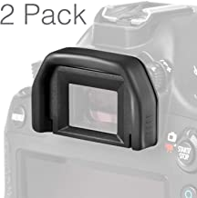 (2 Pack) Altura Photo Eyepiece/Eyecup (Canon EF Replacement) for Canon Rebel DSLR Cameras
