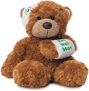 Aurora, 60384, Bonnie Get Well Bear, 9In, Soft Toy, Brown