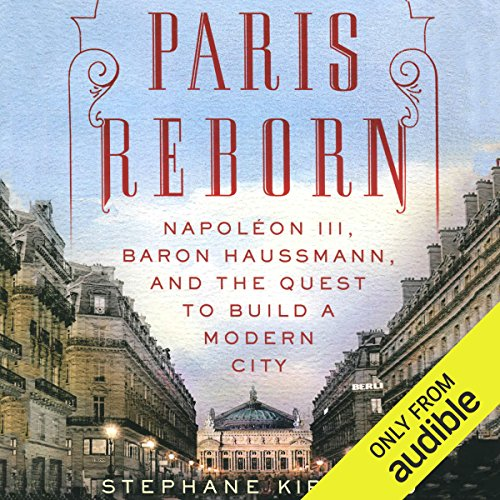 Paris Reborn audiobook cover art