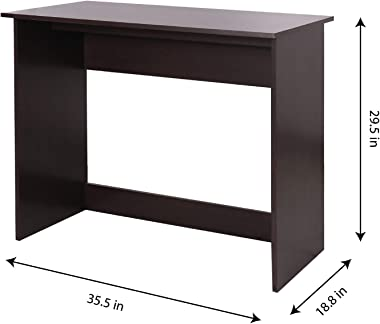 Fanilife Laptop Notebook Computer Desk Study Writing Desk, 35.5 in Modern Simple Small Kids Desk Home Office Table Workstatio
