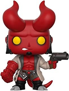Funko Pop! Vinyl Comics - Figura de acción variante de Hellboy con cuernos