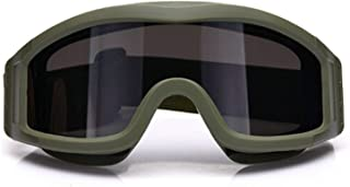Eye Protection Desert Windproof Anti Fog And Sand Cs Tactical Paintball Shooting Glasses Locust Goggles