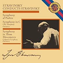 Conducts Stravinsky: Symphony In Three Movements