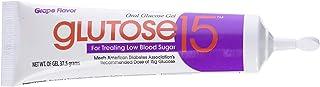 Glutose15 Oral Glucose Gel Grape Flavor, 3-1.3 oz Tubes, Pack of 2