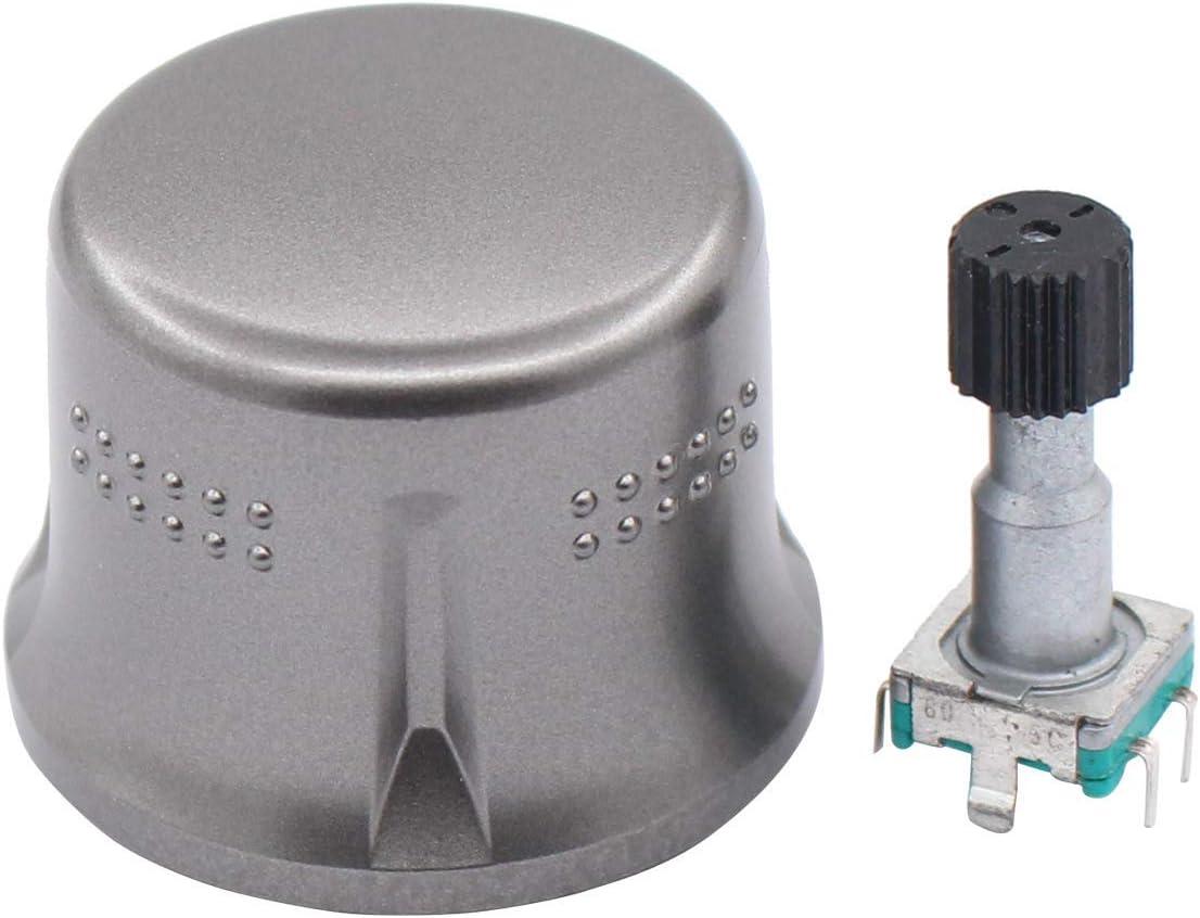 ApplianPar GPS Navigation System Volume Knob Repair Parts for 2007-2011 Toyota Highlander