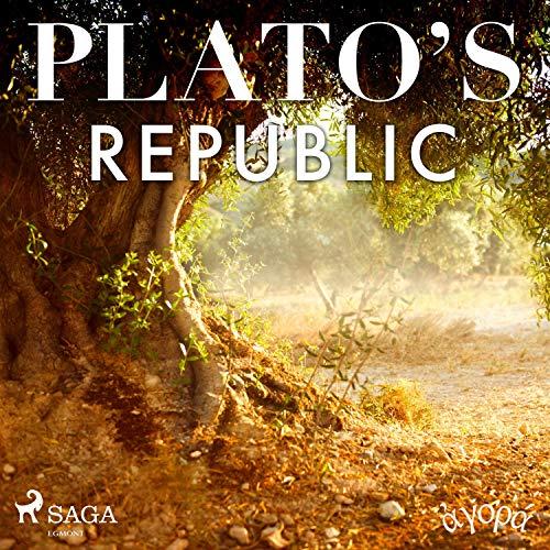 Plato's Republic audiobook cover art