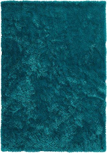 Tom Tailor Teppich handgetuftet smaragd Größe 100x100 cm