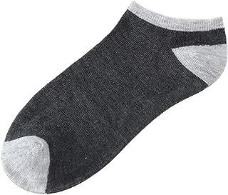 1Pairs Men Comfortable Stripe Cotton Sock Slippers Short Ankle Socks