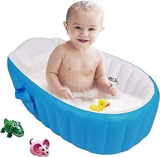 Bañera para Bebe Inflable Plegable de Viaje Ducha Para Niñ
