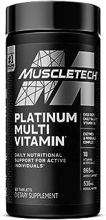 Multivitamin for Men | MuscleTech Platinum Multivitamin | Vitamin C for Immune Support | 18 Vitamins & Minerals | Vitamins...