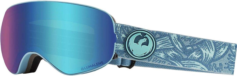 Dragon Plexblueee Ionized 2019 X2S Snowboarding Goggles