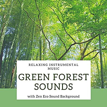 Green Forest Sounds: Relaxing Instrumental Music with Zen Eco Sound Background