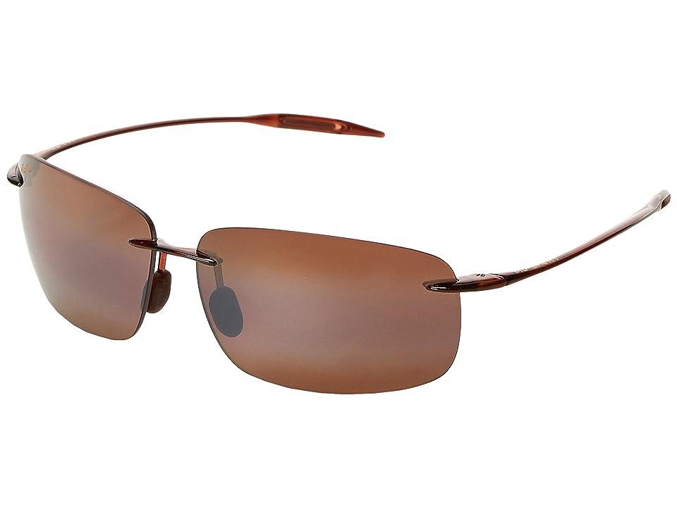 Maui Jim Breakwall (Rootbear/HCL Bronze Lens) Sport Sunglasses
