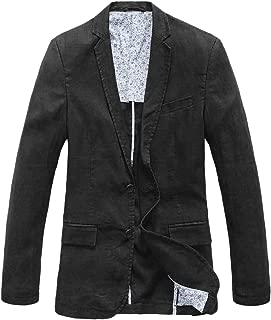 Men's Lightweight Half Lined Two-Button Suit Blazer