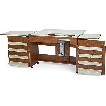 Mueble para máquina de coser - Bertha Roble: Amazon.es: Hogar