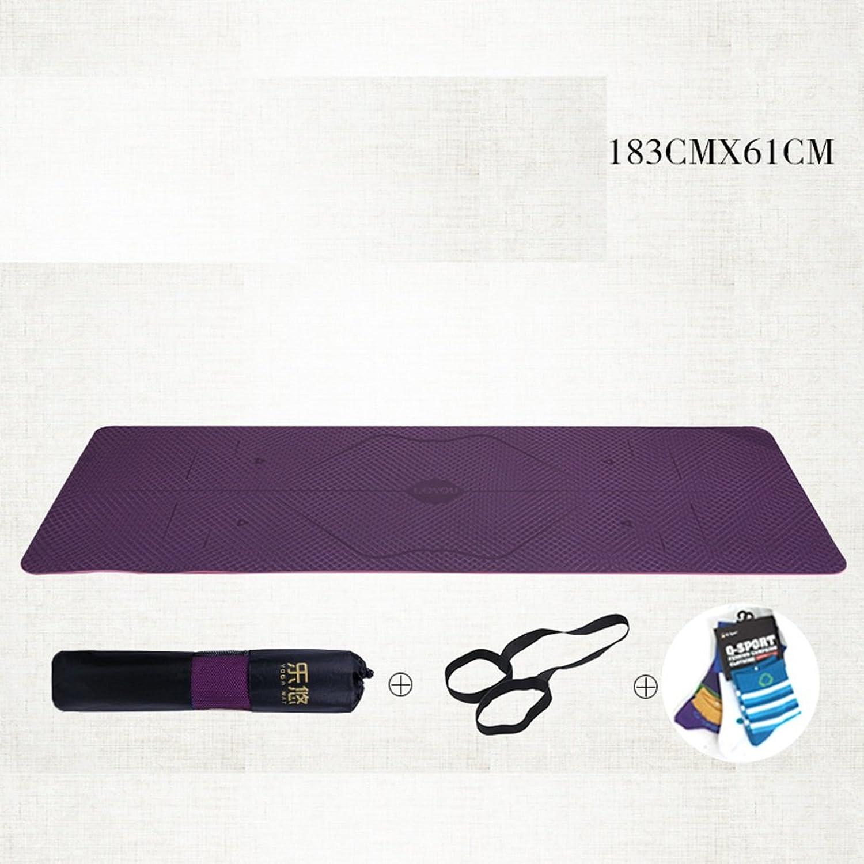 Picknick-Matte Leitfaden Body Yoga Mat Anfnger Anti-Rutsch-Sit - Ups Fitness Verdickung Beruf