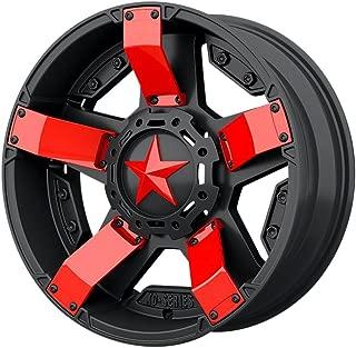 Red XD Series XD811 Rockstar 2 Inserts For 18x7 +0 ATV Wheel