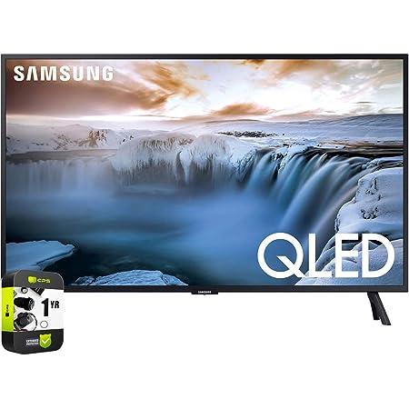 SAMSUNG QN32Q50RAFXZA 32 inch Q50R QLED Smart 4K UHD TV 2019 Model Bundle with 1 Year Extended Protection Plan