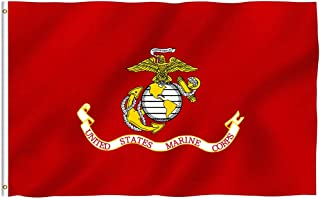 Breeze Banner UNTTED States Marine Corp 3-by-5 Feet Flag with Grommets