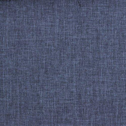 Bezugsstoff Sawanna Struktur Web Möbel Polster Stoff Meterware Melange fein gewebt Dark Blue