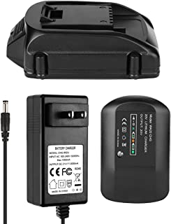 ANTRobut Replacement 2.5Ah Worx 20V Battery and Charger for WA3525 WA3520 WA3742 Worx 20v Lithium Battery + Worx Battery Charger 20Volt