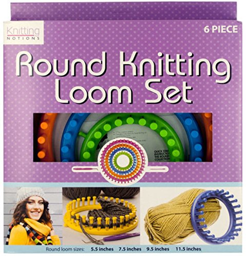 Round Knitting Loom Set - Pack of 2