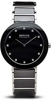 BERING Time 11435-749 Womens Ceramic Collection Watch with Stainless Steel Band and Scratch Resistant Sapphire Crystal. Designed in Denmark.