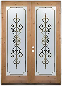 Glass Front Entry Door Sans Soucie Art Glass Carmona