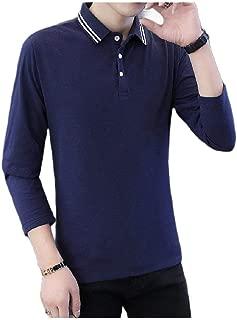AngelSpace Men Casual Leisure Short-Sleeve Regular Big /& Tall Polo Shirt
