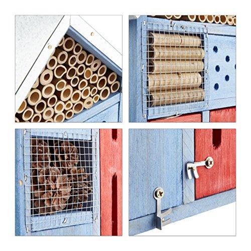 Design-Insektenhotel mit Metalldach - 4