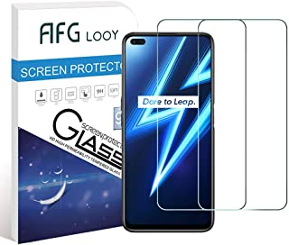 AFGLOOY 2Pack, Screen Protector Compatible with Realme 6 Pro/Realme X3 SuperZoom/Realme X50, Tempered Glass for Realme 6 P...