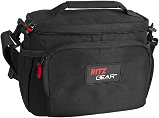 Ritz Gear™ MIRRORLESS/Large Point & Shoot Camera Bag Holds a Mirrorless Camera with Lens Attached, or Large Point & Shoot with Accessories