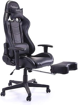 Amazon Com Desino Gaming Chair Racing Style High Back