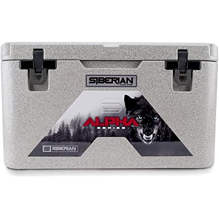 Siberian Coolers Alpha Pro Series 45 Quart in Granite Bear Resistant Includes Accessories