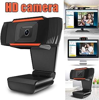 720P HD Webcam, Digital Video Live Streaming Web Camera, Built-in Dual Microphone USB Computer Camera, PC Mac Laptop Desktop Web Cam, Noise Reduction Webcam for Xbox YouTube Skype