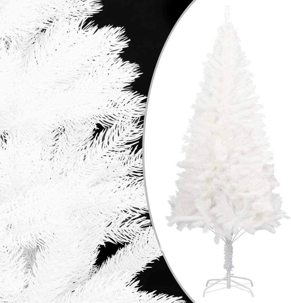 一部予約 vidaXL Artificial Christmas Tree White Living with Stand NEW ARRIVAL Ro Home