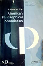 Journal of the American Philosophical Association - Volume 1, Issue 4, Winter 2015