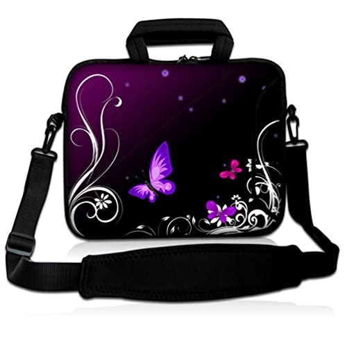 9533df30568e Womens Laptop Bag with Butterflies: Amazon.com