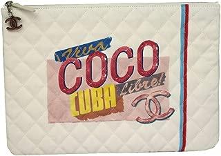 CUBA CANVAS CLUTCH BAG A82603 POUCH