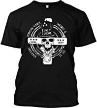 Sons Of Liberty Rebellion Against Tyrants is Obedience to God. T-Shirt - Mad.