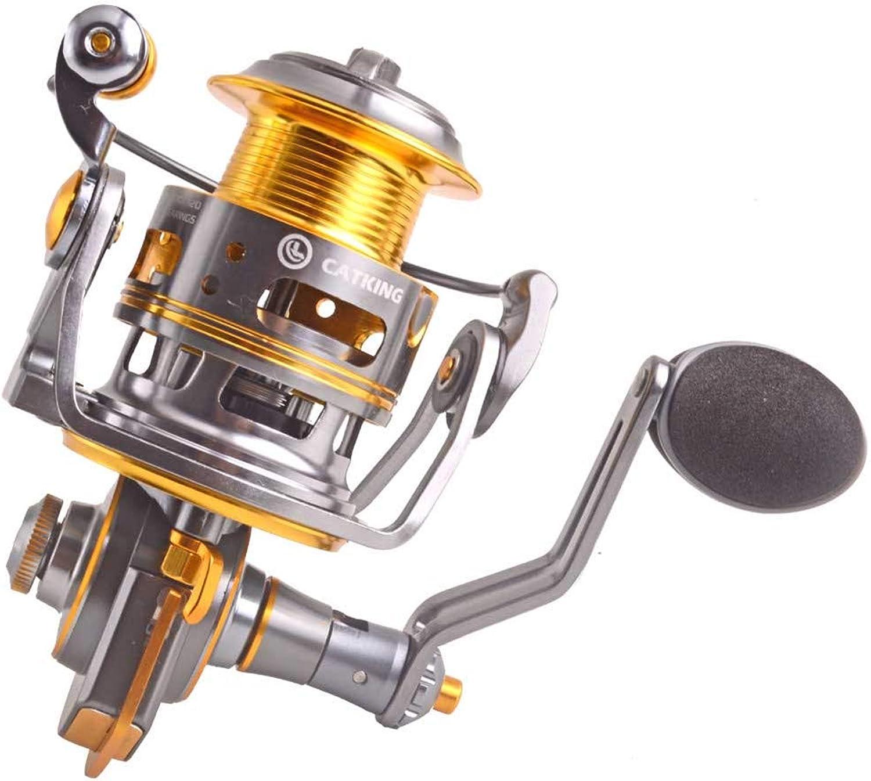 FLLH die angelrolle Metall Fischerei Revolver Goldene spinnrad süwasser salzwasser